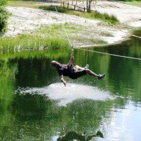 Het Avontuur, zipline water 5
